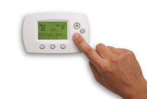 Thermostat-hand-setting